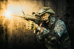 Soldat de forces spéciales Images libres de droits