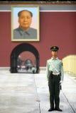 Soldat de garde Photos libres de droits