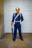 Soldat de garde présidentielle dans la Chambre de Narino Images stock