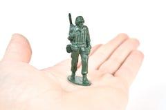 Soldat de jouet Photographie stock libre de droits