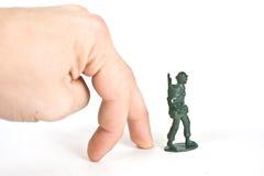 Soldat de jouet Photos stock