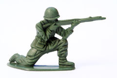 Soldat de jouet Photographie stock