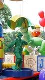 Soldat de jouet sur un défilé dans Disneyland Photos stock