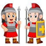 Soldat de légionnaire de Roman Empire illustration stock