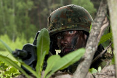 Soldat de la Bundeswehr (Allemagne). Images stock
