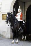 Soldat de la cavalerie de la cavalerie de ménage Photos libres de droits