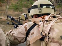 soldat de marine nous Photographie stock libre de droits