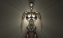 Soldat de robot Images libres de droits