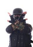 Soldat de SWAT photo stock