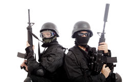 Soldat de visage Photos libres de droits