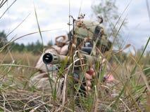 Soldat der AMERIKANISCHEN ARMEE Stockfotos