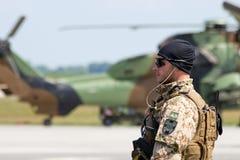 Soldat der deutschen Armee Lizenzfreie Stockfotografie