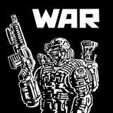 Soldat der Zukunft lizenzfreie abbildung