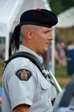 Soldat des schwarze Uhr-königlichen Hochland-Regiments Stockfotografie