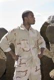 Soldat des USA Photo stock