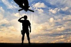 Soldat-docka honnörer Royaltyfri Bild