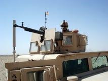 Soldat en Afghanistan Photographie stock libre de droits