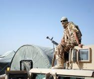 Soldat en Afghanistan Images stock