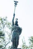 Soldat en bronze Photo libre de droits
