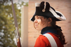 Soldat för brittisk armé Arkivfoto
