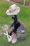 soldat för minnesmärke s Royaltyfri Foto