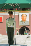 Soldat för Tiananmen fyrkant royaltyfri foto