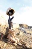 soldat för minnesmärke s Royaltyfria Bilder