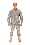 Soldat för USA-ARMÉ Royaltyfria Foton