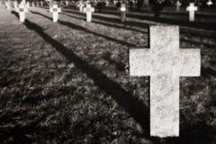 Soldat-Friedhof Lizenzfreie Stockfotos