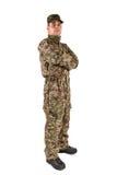 Soldat getrennt Stockfoto