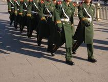 Soldat im Porzellan Stockfotos