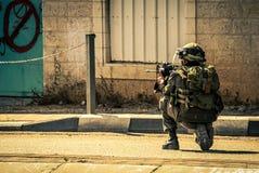 Soldat israélien Photo libre de droits