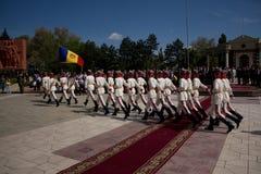 Soldat moldavien le jour de victoire Photos stock