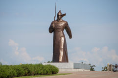 Soldat Monument in Stavropol Stockfotos