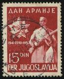 Soldat och emblem Royaltyfria Foton