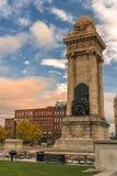 Soldat` och sjöman`-monument royaltyfria bilder