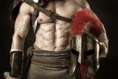 Soldat ou gladiateur antique photos stock