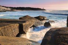 Soldat-Punkt, zentrale Küste Australien Stockbilder