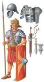 Soldat romain Photos stock