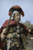 Soldat romain Photographie stock