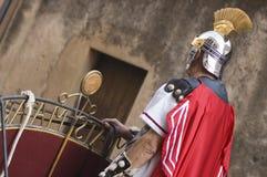 Soldat romain chez Pâques Images stock