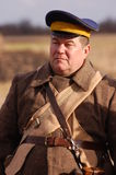 Soldat russe 1918 Images stock