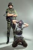 Soldat russe images libres de droits