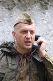 Soldat soviétique Images stock