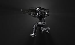 Soldat superbe avancé Image libre de droits