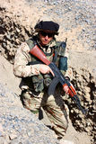 Soldatbewegen lizenzfreies stockfoto
