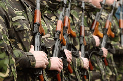Soldaten Stockfotos