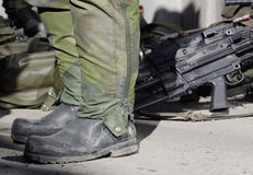 Soldaten stockfoto