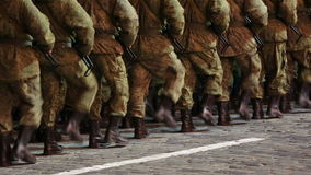 soldaten stock footage