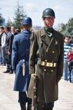 Soldaten auf Uhr Lizenzfreies Stockfoto